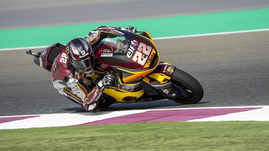 Sam Lowes, ganador de Moto2 2021 en el circuito de Losail