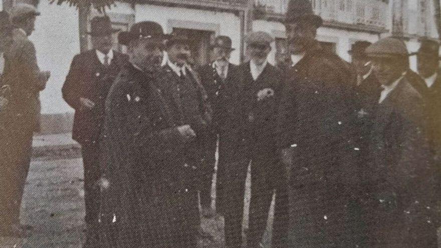 Lalín hace un siglo