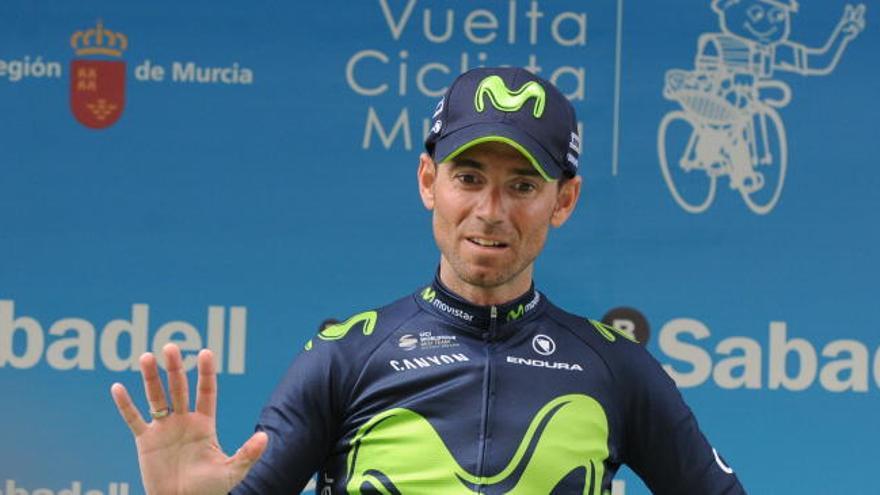Valverde es baja en la París-Niza y Rojas reaparece