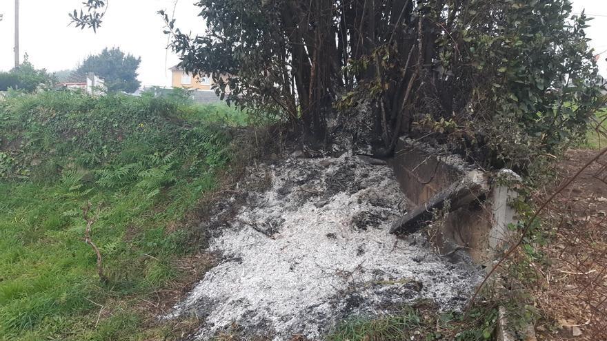 Denunciado un vecino de Poio por una quema agrícola descontrolada