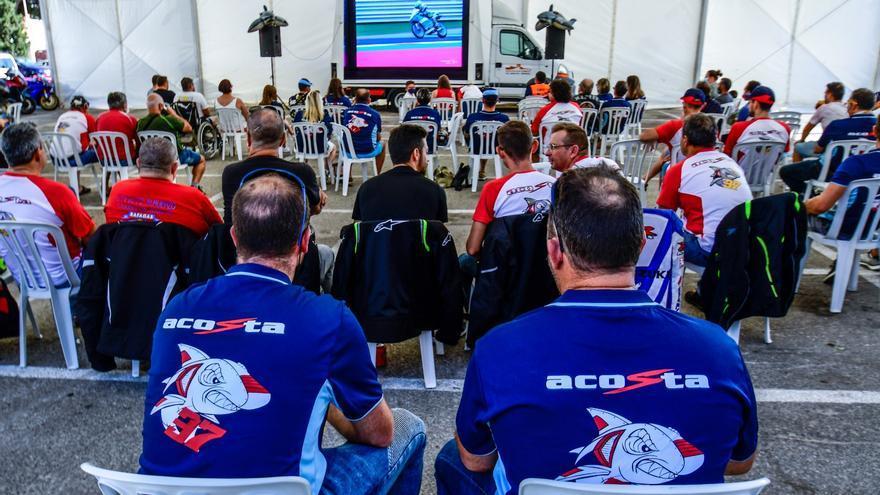 El club de fans de Pedro Acosta se prepara para la gran traca final