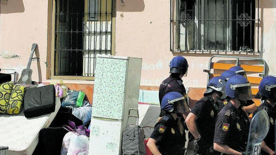 Más de 500 familias de Málaga, en riesgo de desahucio al acabar la moratoria del Gobierno central