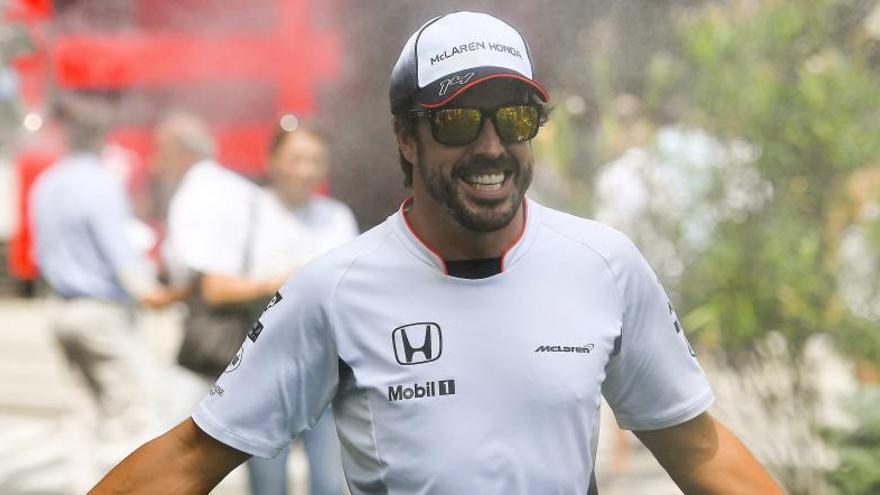 """Alonso: """"Estoy contento de ser el primero del resto"""""""