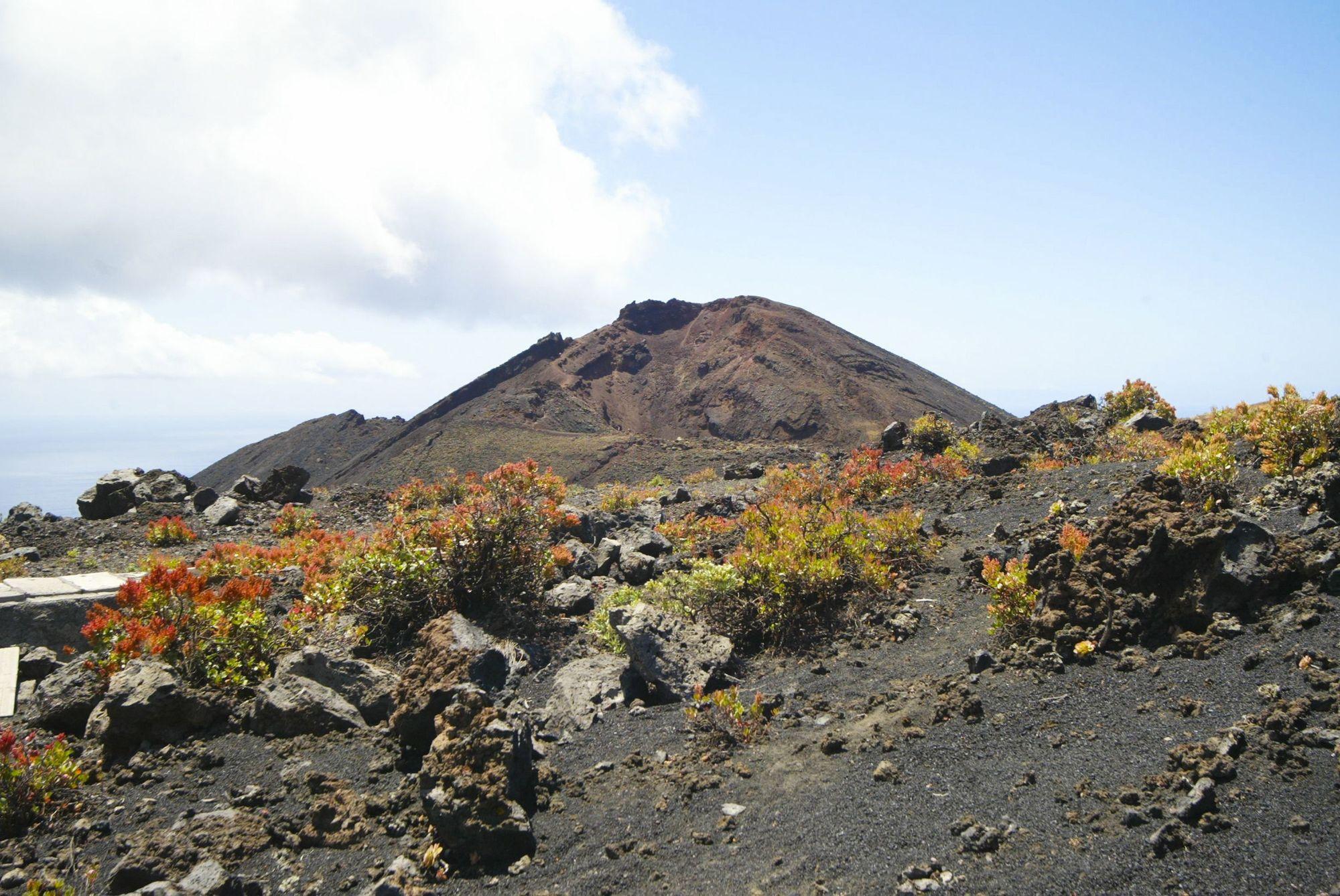 Erupció del volcà a La Palma