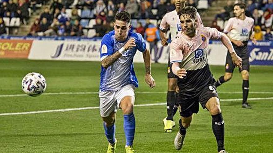 L'Espanyol elimina el Lleida gràcies a dos gols de Wu Lei
