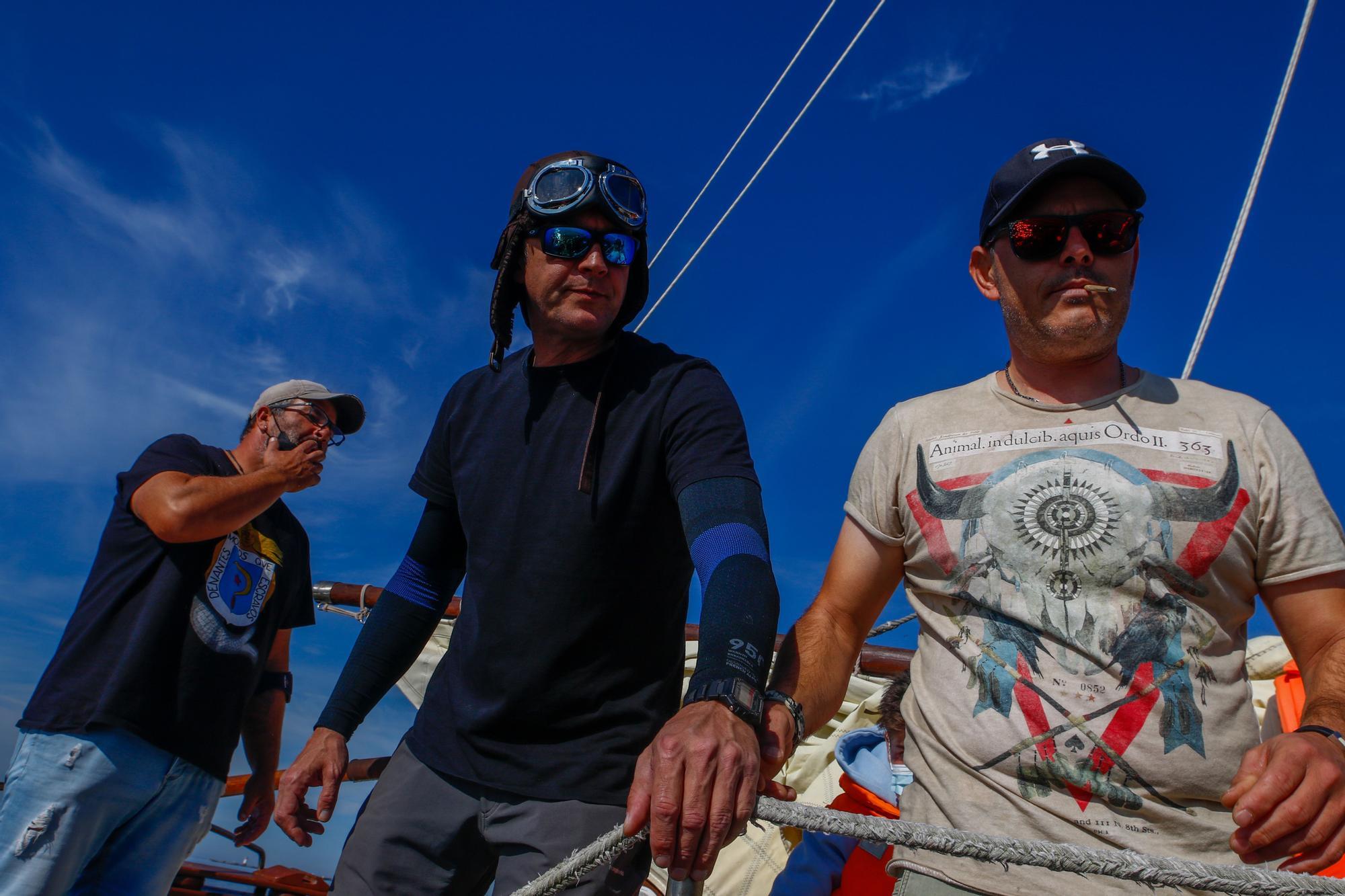 """Cambados honra a Tito Silva, uno de los """"padres"""" de su navegación tradicional"""