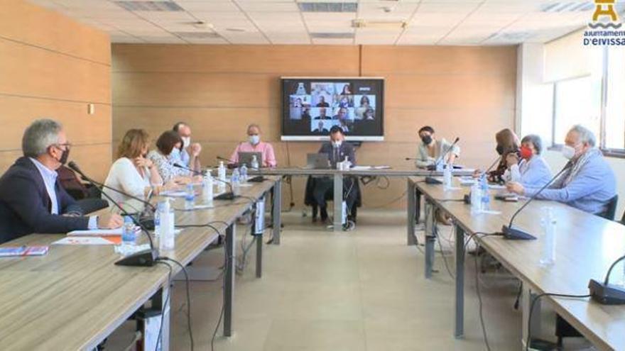 Rafa Ruiz se marca como objetivo aprobar el PGOU del municipio de Ibiza en el nuevo curso político