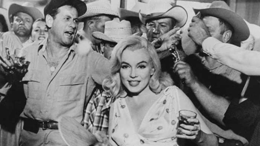 Descubiertas imágenes de un desnudo de Marilyn Monroe en 'Vidas rebeldes'