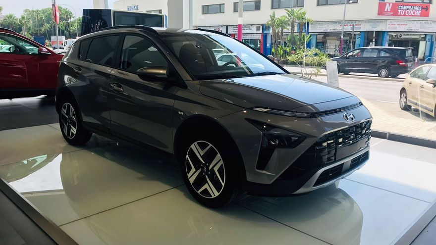 El nuevo Bayon, el modelo más compacto de la familia SUV de Hyundai