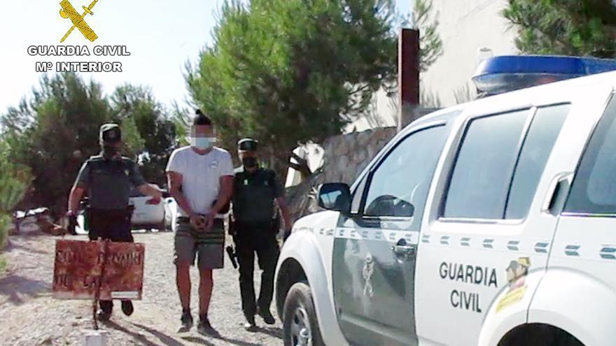 Desarticulan una organización criminal dedicada al robo con fuerza en San Javier