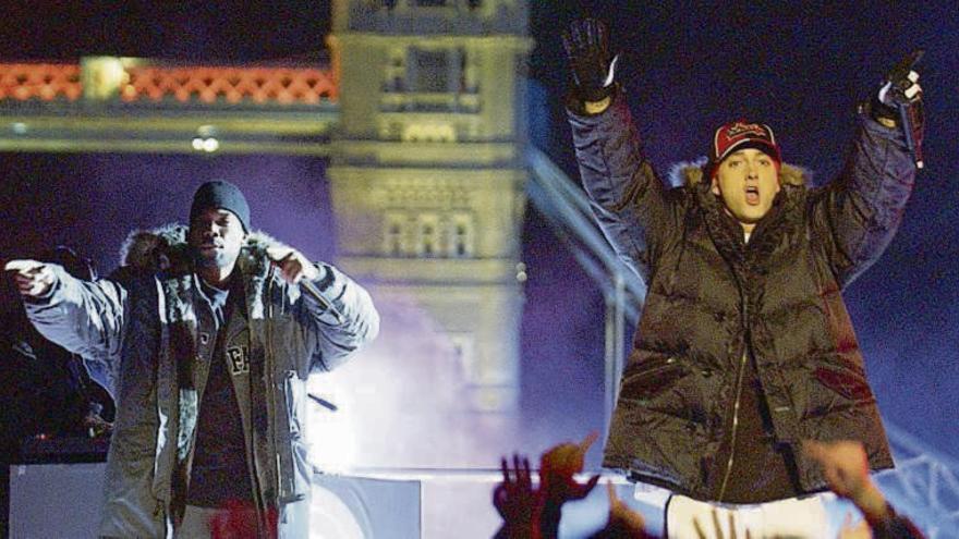 """Eminem supera a ABBA y Led Zeppelin, récord """"hit-parade"""""""