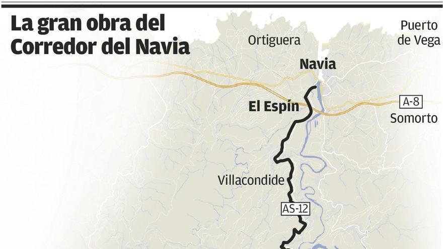 """""""Es una indecencia"""", clama el valle del Navia por el freno a la mejora de su vía"""