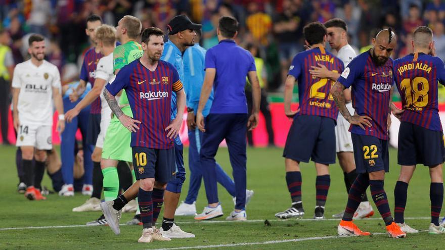 Final Copa del Rey 2019: Celebración a pie de campo