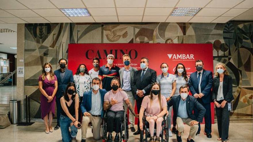 Héctor Catalá, triatleta valenciano, protagonista de 'Camino a Tokio', iniciativa de Ambar