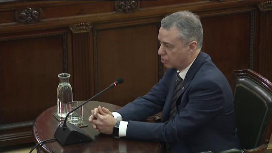 "Urkullu: ""Rajoy no era muy dado a aplicar el 155"""