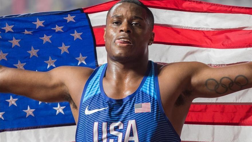 Coleman, campeón del mundo de 100 metros, suspendido por dopaje