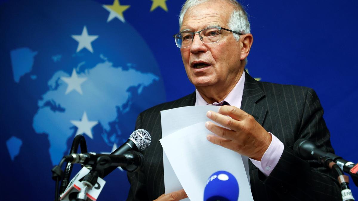Josep Borrell, Alto Representante de la política exterior europea.