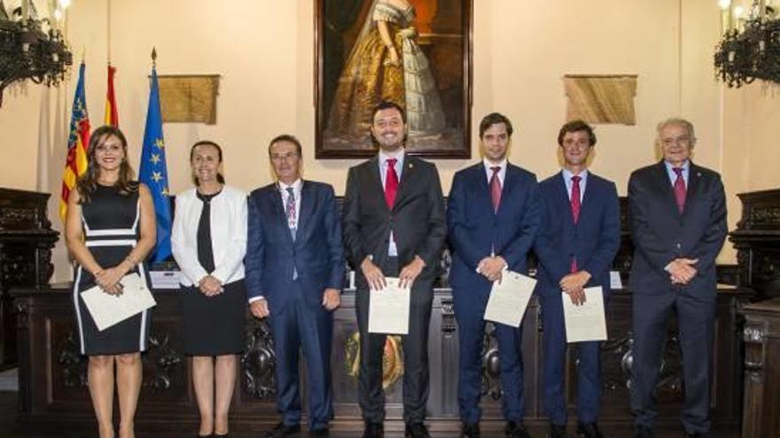 Juan Montes, nuevo notario de Novelda