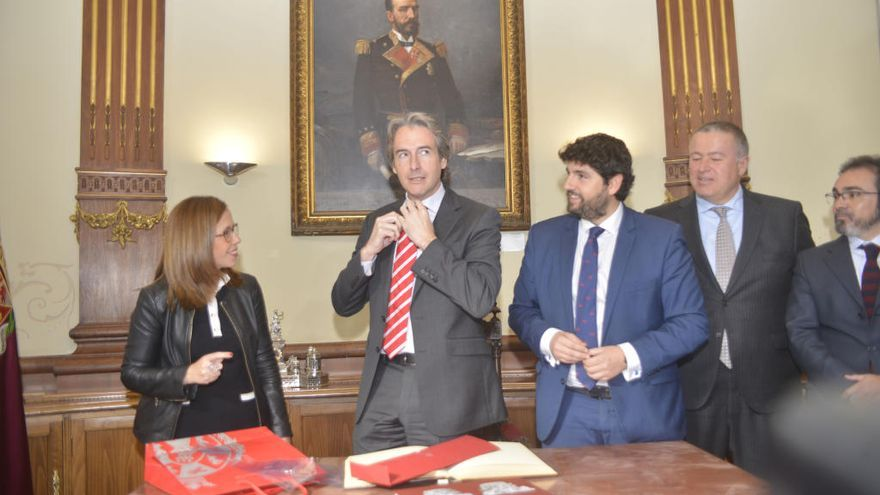 Las obras para que el AVE a Cartagena sea una realidad no empezarán hasta 2019