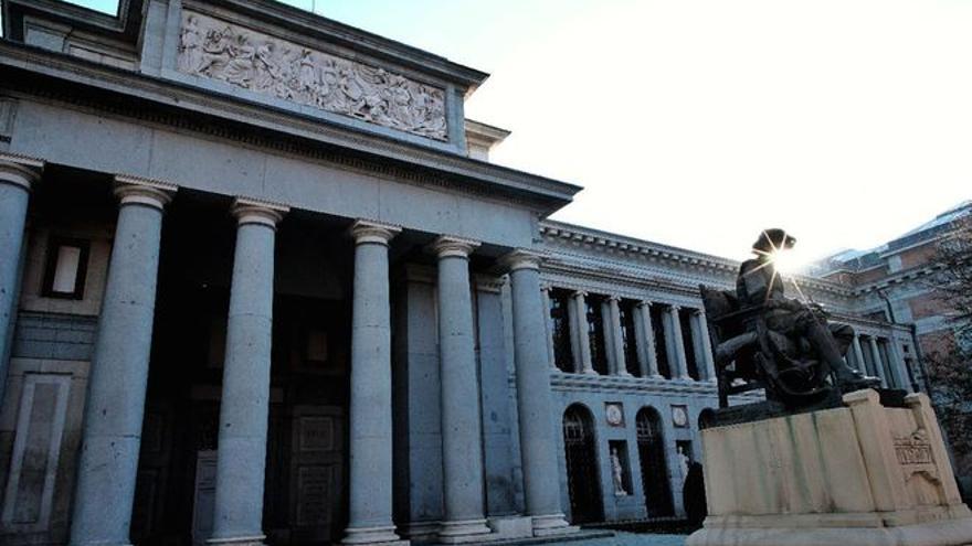 Seis víctimas del aceite de colza se encierran en el Museo del Prado