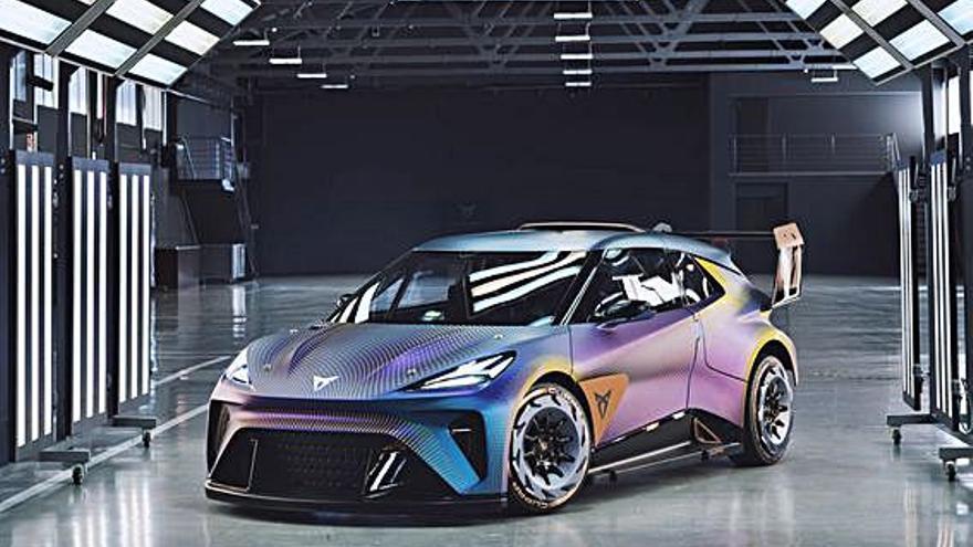 La interpretación más radical de un vehículo eléctrico