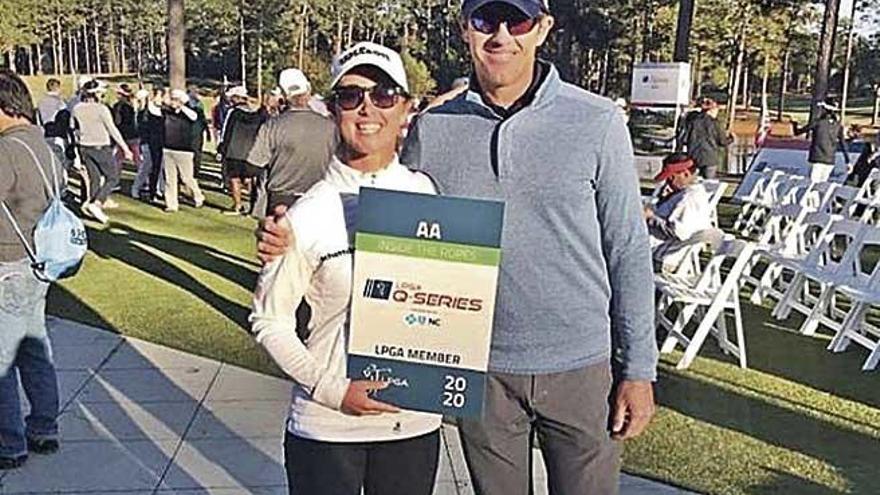 Nuria Iturrioz logra la tarjeta para jugar el circuito americano