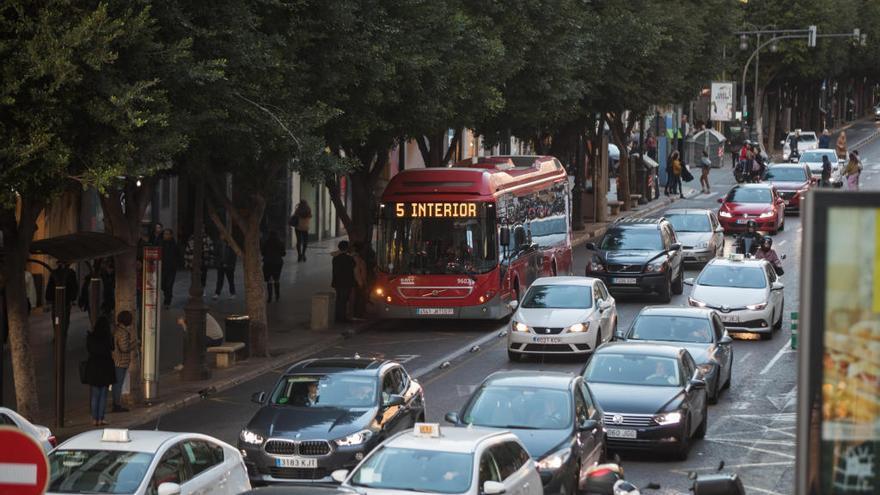 Colón tendrá un segundo carril para el bus y uno solo para coches