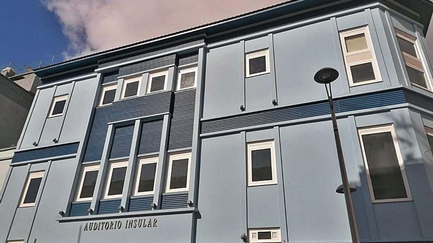 El Cabildo abre un proceso para cambiar el nombre del Auditorio Infanta Cristina