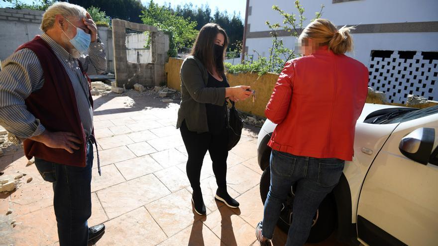 Los expropiados de Montecelo entregan sus llaves y anuncian que irán a juicio