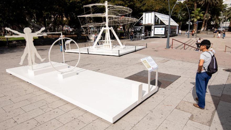 Últimos días de la exposición sobre Leonardo da Vinci en el parque San Telmo