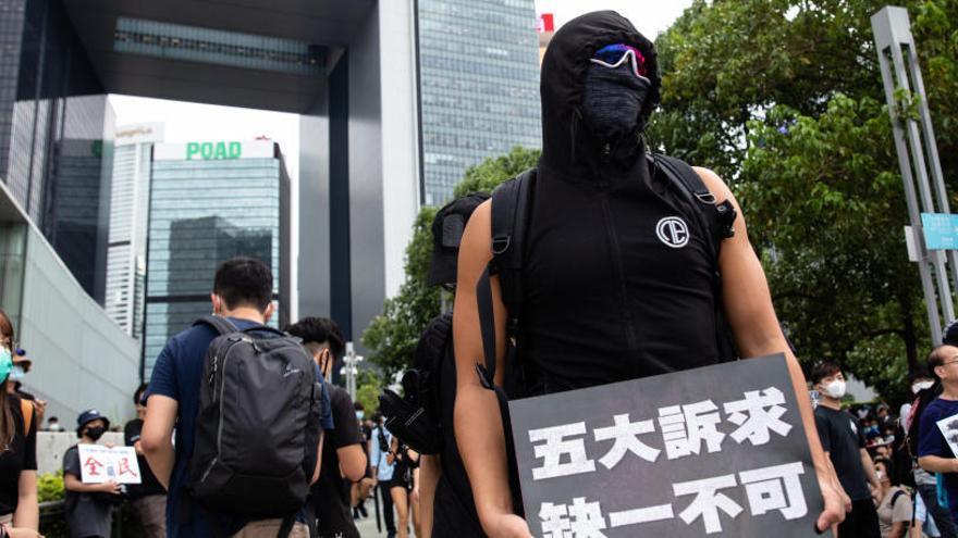 Hong Kong retira definitivament la llei d'extradició després de mesos de protestes