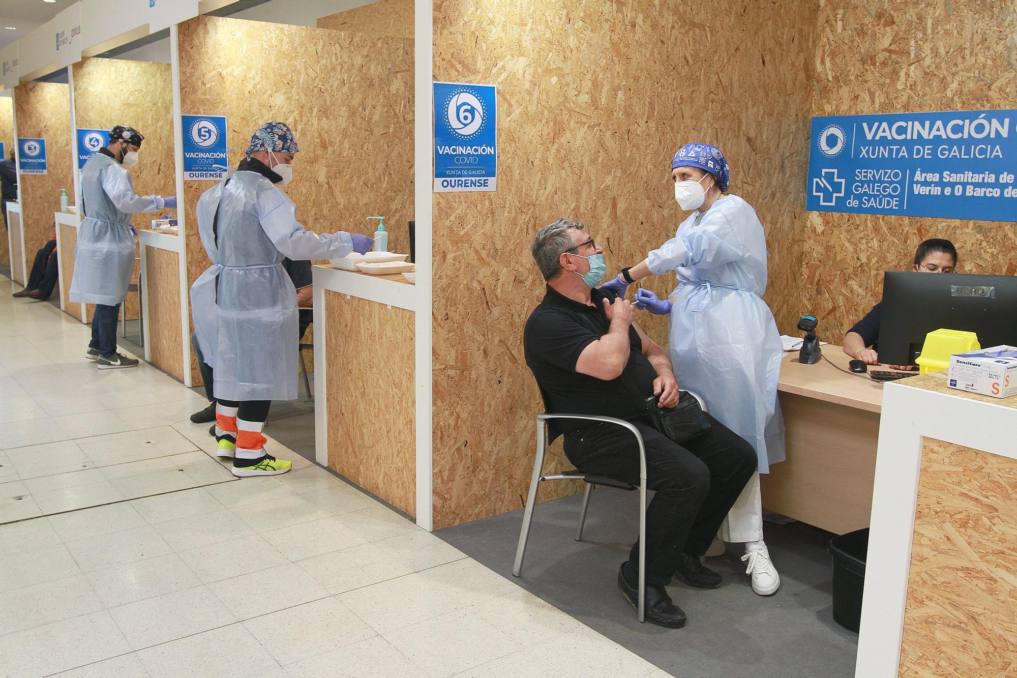 Ourense entra en fase de vacunación masiva contra el COVID
