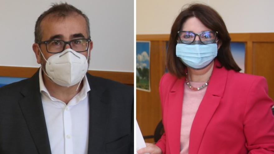 Los catedráticos Amparo Navarro y José Cabezuelo vuelven a presentar sus candidaturas al Rectorado de la UA