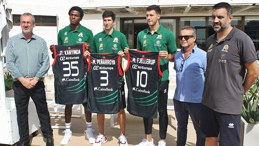 Fjellerup, Kanyonde y Marc Peñarroya se presentan con el Palmer Palma con la ACB como objetivo