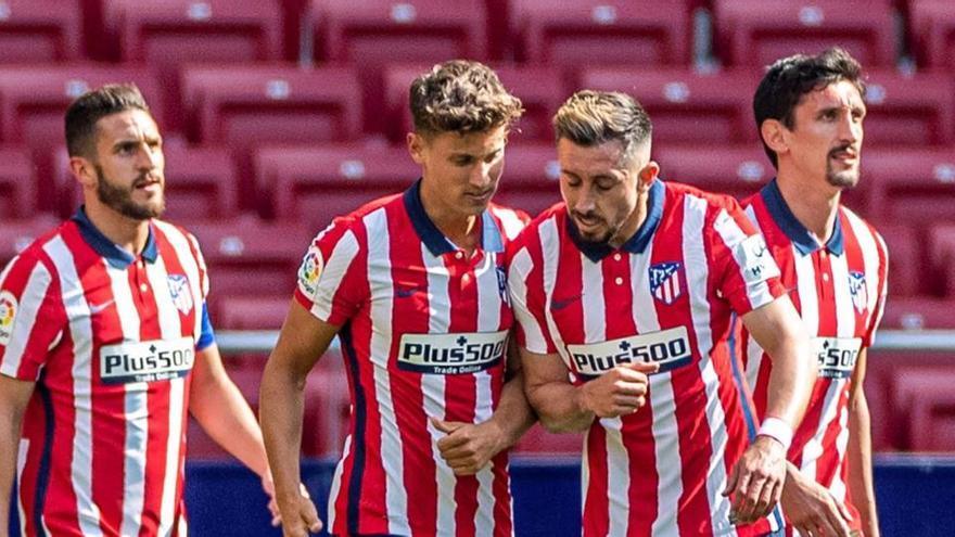 El Atlético gana confianza con una goleada ante el Eibar