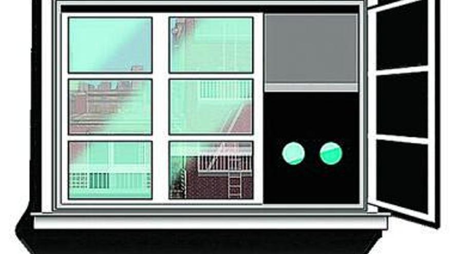 La suerte de besar   Una ventana indiscreta