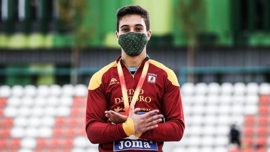 El saltador del Vino de Toro, Óscar Matilla, subcampeón de España Sub-20