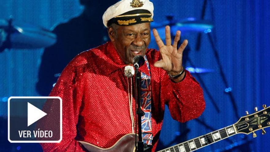 Las grandes colaboraciones de Chuck Berry