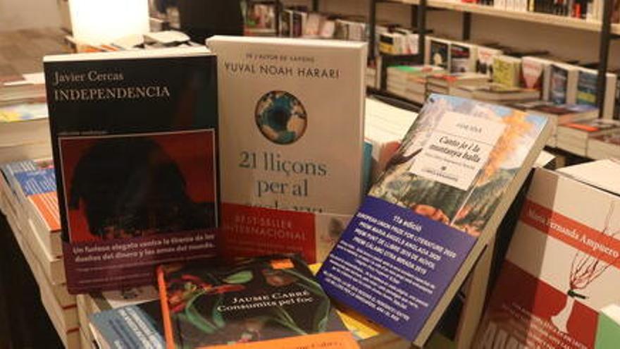 Aquests són els llibres favorits de Laura Borràs, Sara Roy, David Victori i Sor Lucia