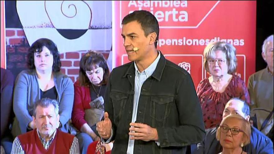 Sánchez llama a evitar un presidente inconstitucional