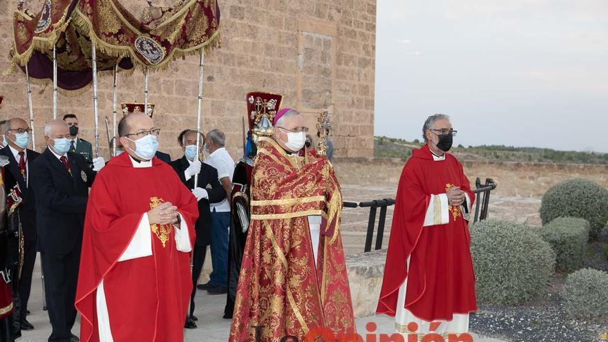 La bendición de la Vera Cruz sobre la ciudad y sus campos cierra el Solemne Quinario 2021
