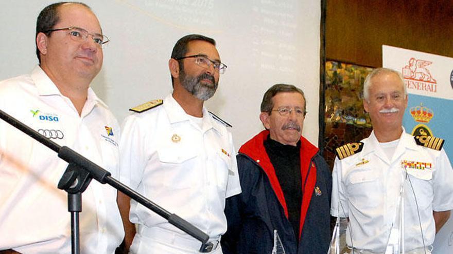 El Náutico acoge el inicio del VII Trofeo de Cruceros de la Armada