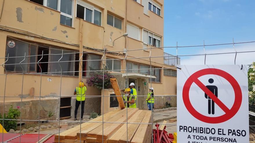 """El PP de Ibiza acusa a Sant Josep de dejar a 50 familias del edificio Don Pepe """"en la calle"""""""