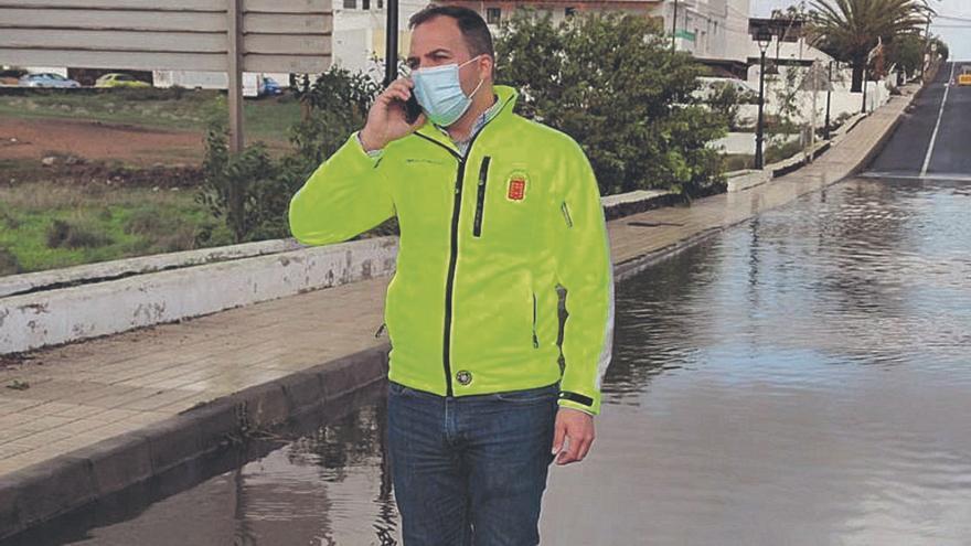 El Cabildo licita la obra para suprimir  las inundaciones por lluvias en Tahíche