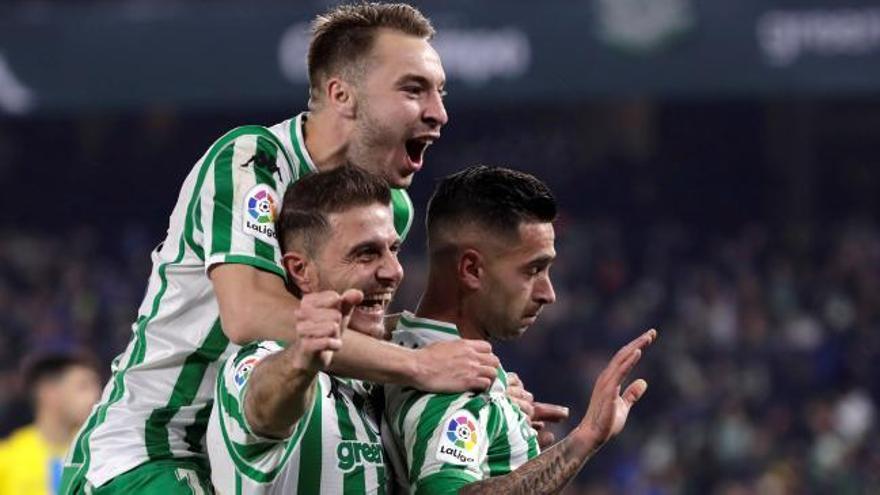 Copa del Rey: Los goles del Betis - Espanyol (3-1)