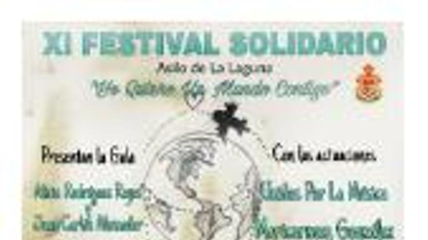 Yo quiero un mundo contigo - XI Festival Solidario Asilo de La Laguna