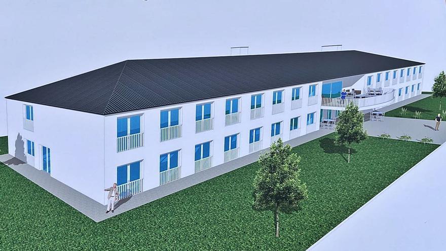 El área refuerza su asistencia geriátrica con una nueva residencia de 90 plazas en Nigrán
