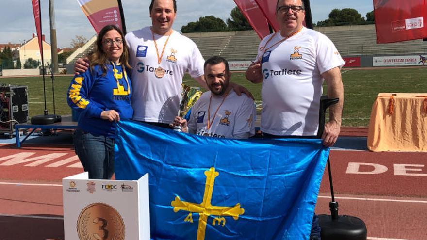 Asturias, bronce en el campeonato de España por Comunidades