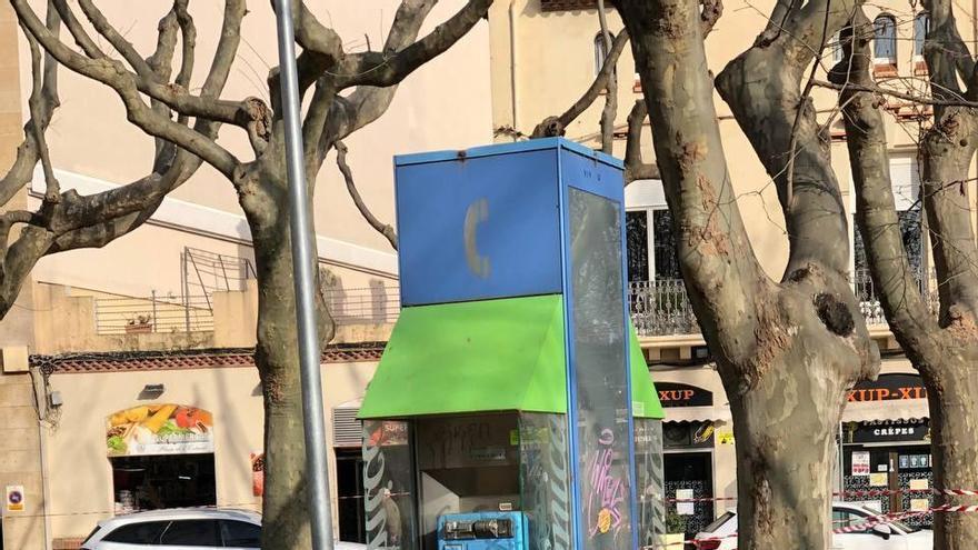 Casellas assegura que Figueres serà dels primers en retirar les cabines