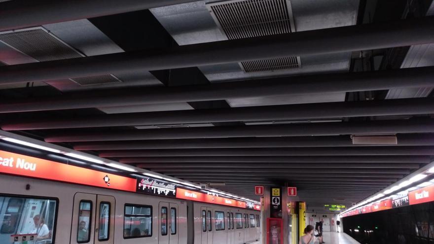 Fan una prova pilot al metro de Barcelona per prevenir contagis de coronavirus